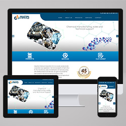 Industrial Chemicals Corp Website