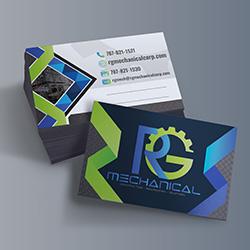 RG Mechanical Tarjeta de Presentación